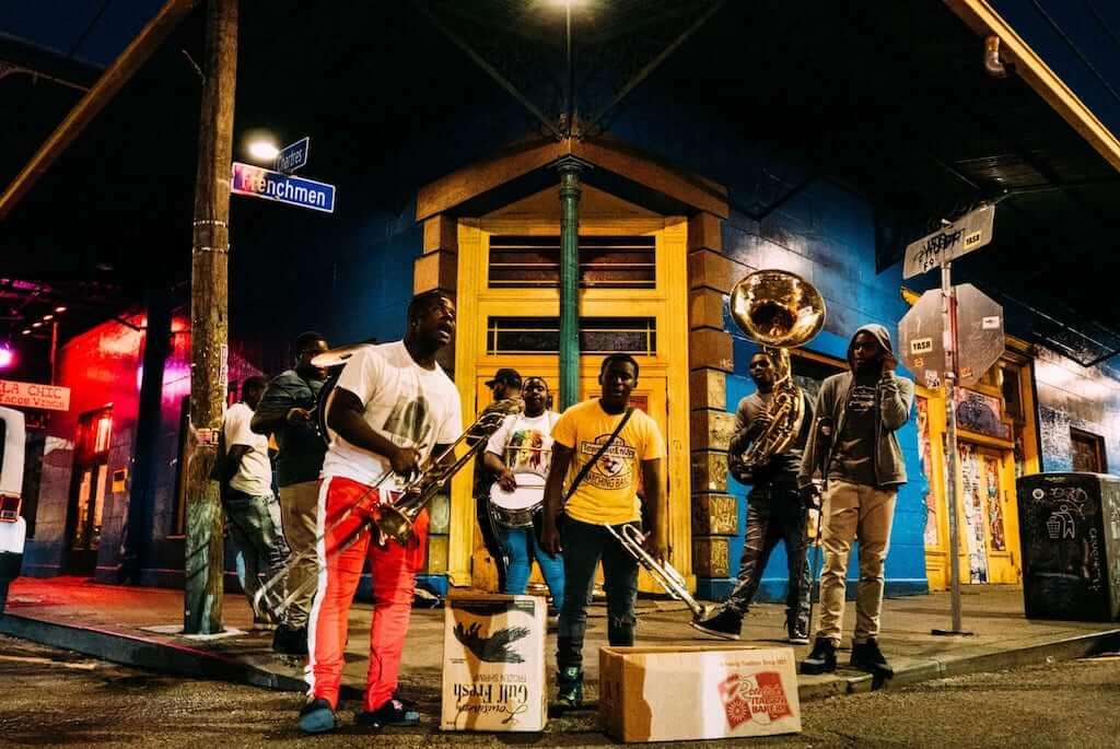 street music new orleans