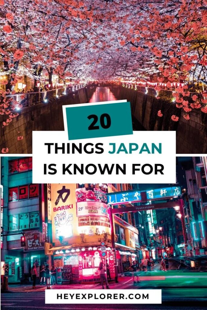 what japan is famous for