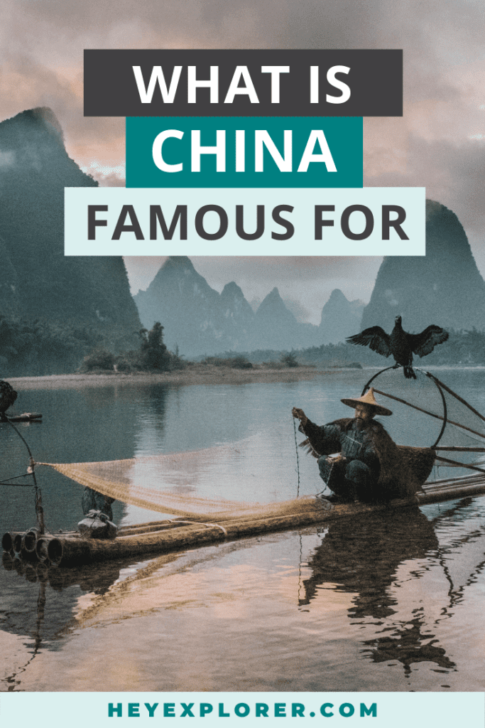 what is china known for