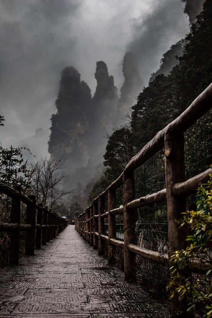 zhangjiajie hiking