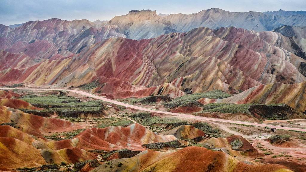 zhangye danxia mountains