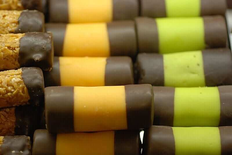 Punschrullar swedish dessert