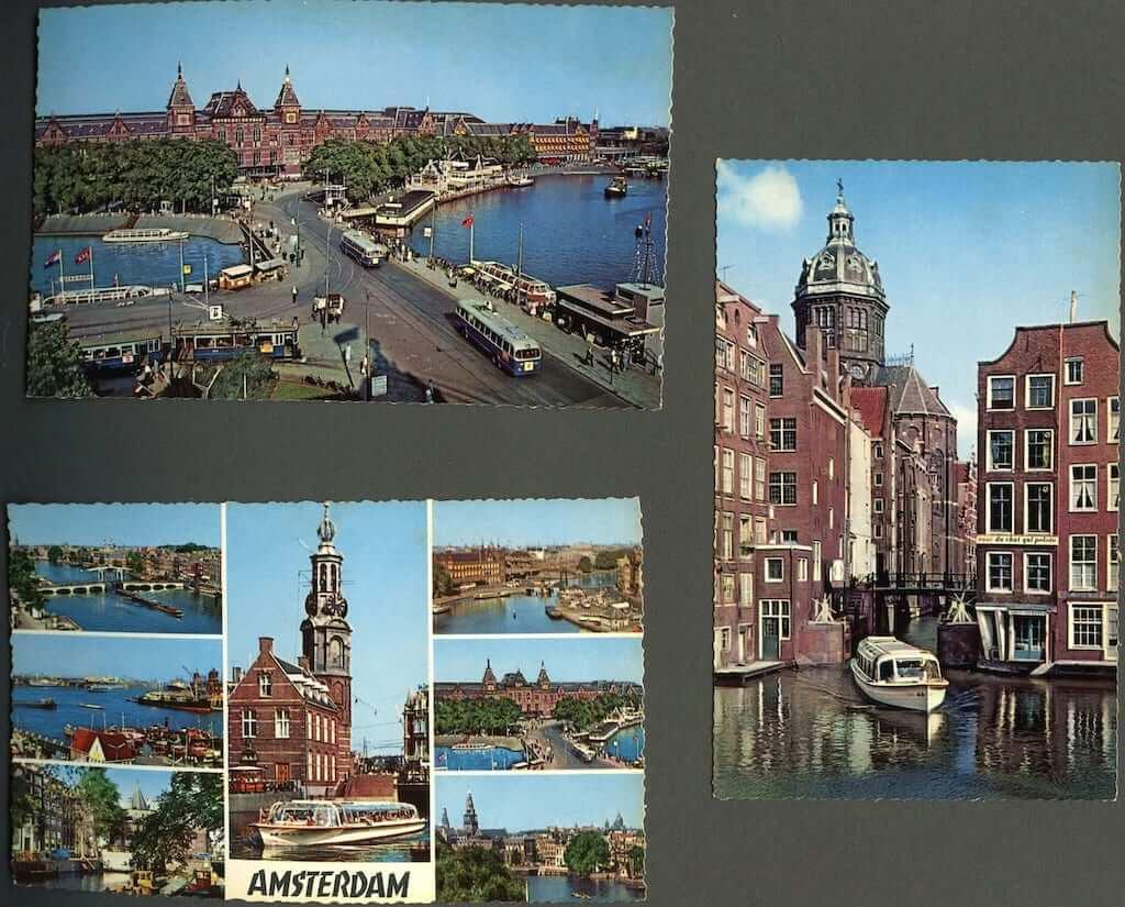 amsterdam postards