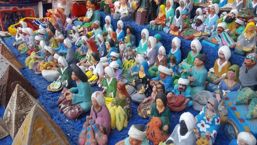 egypt figurines