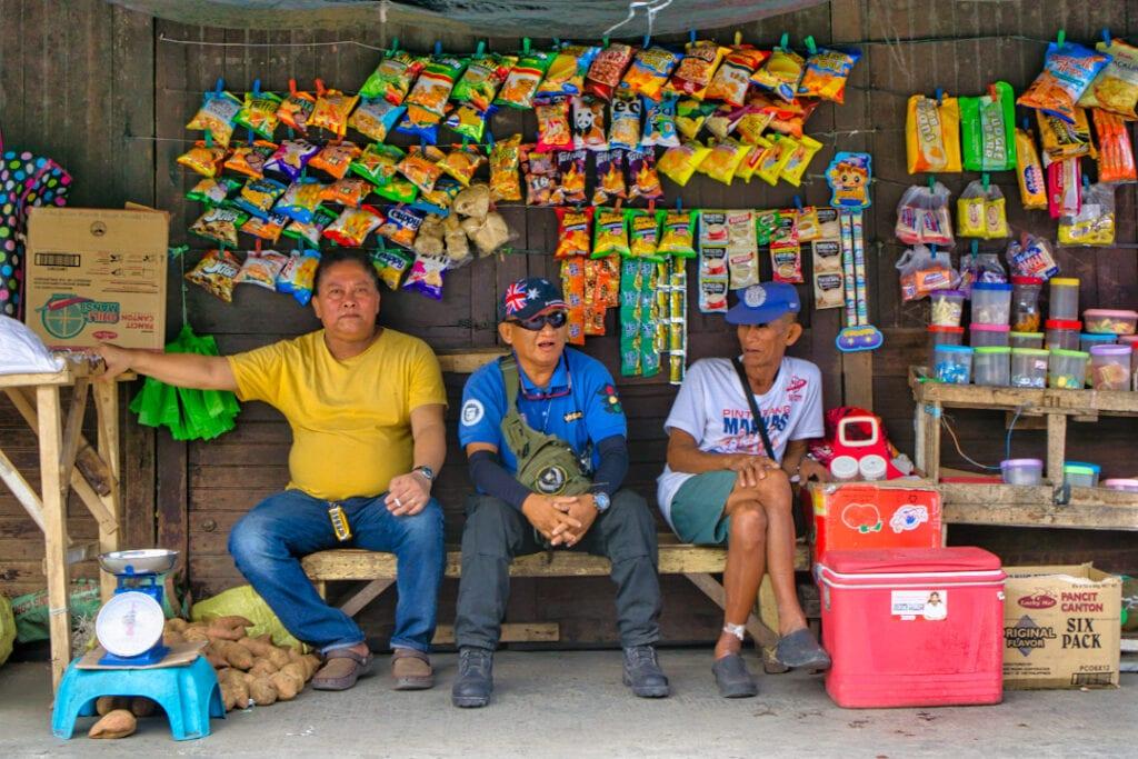 Filipino snack stall