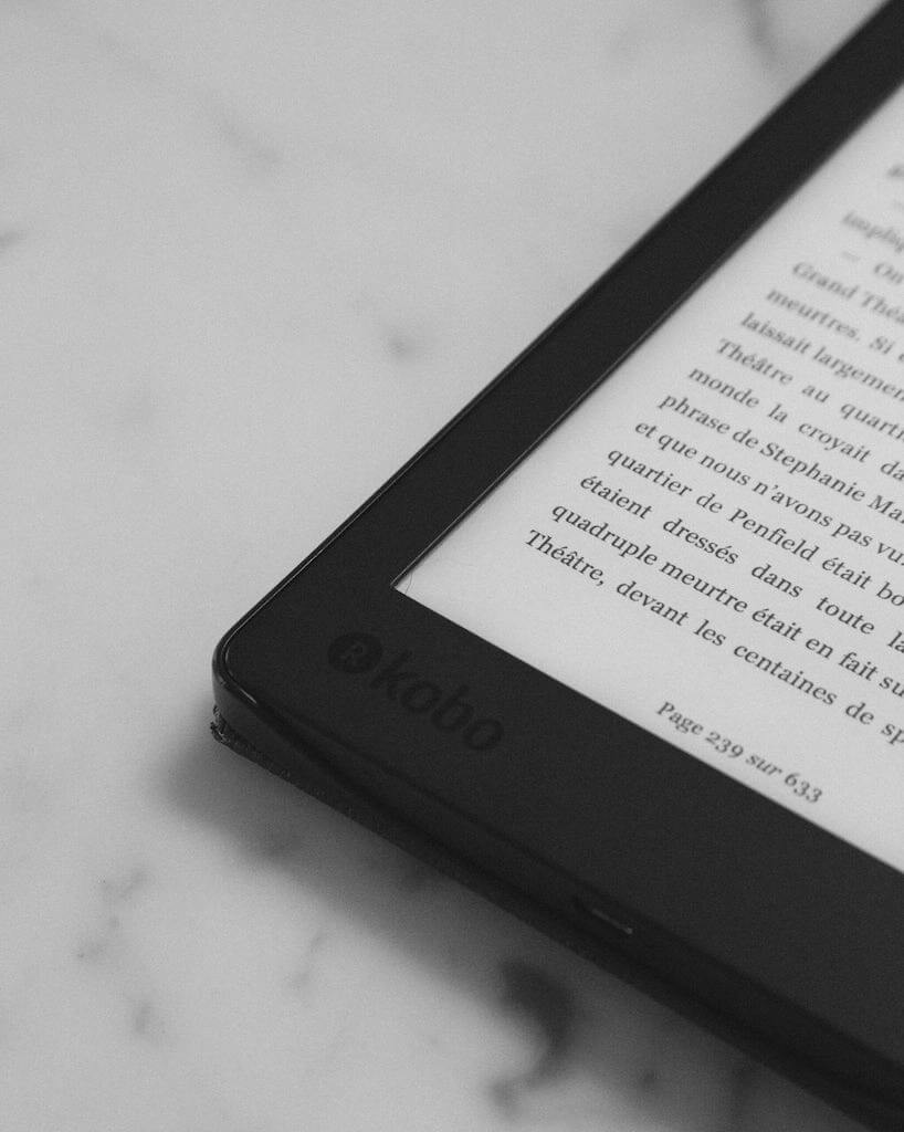 french kindle book