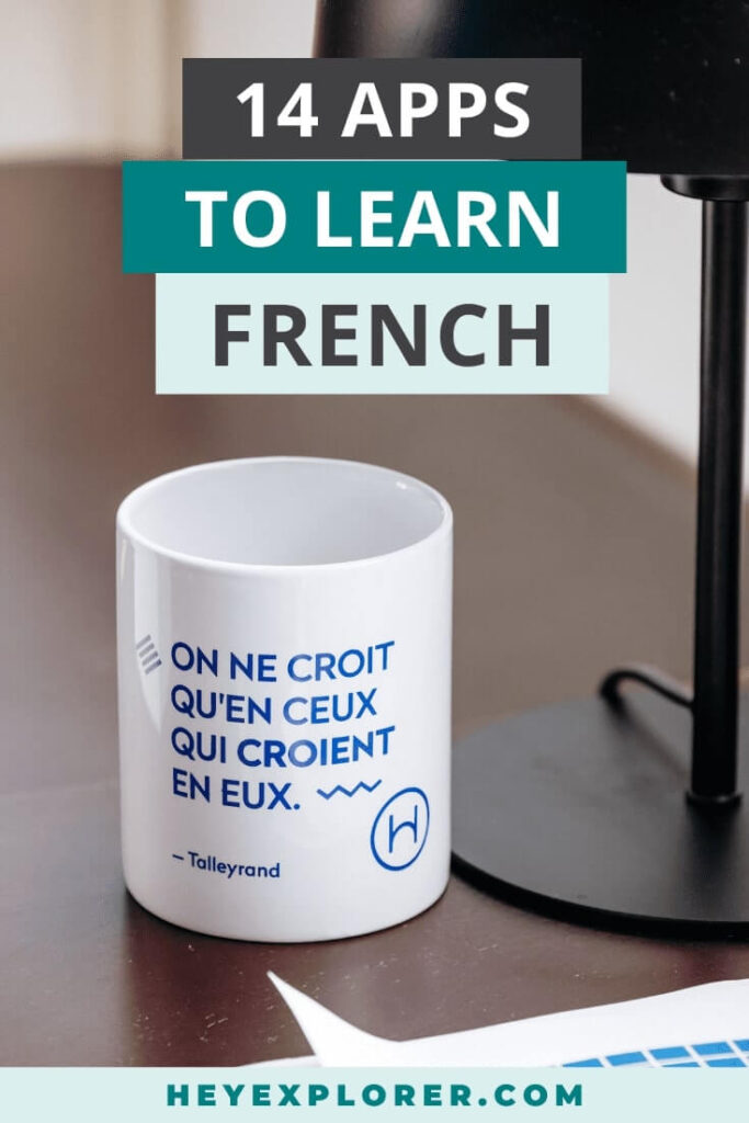 Apps to learn French