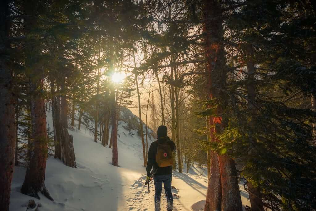 going hiking with a fjallraven kanken backpack