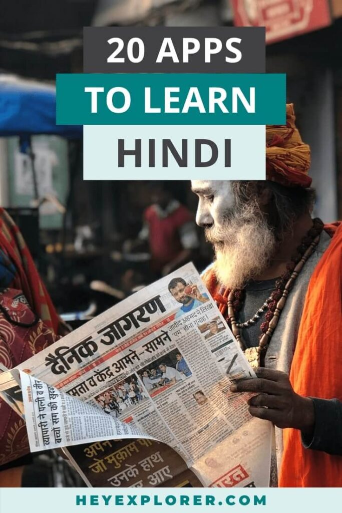 apps to learn hindi