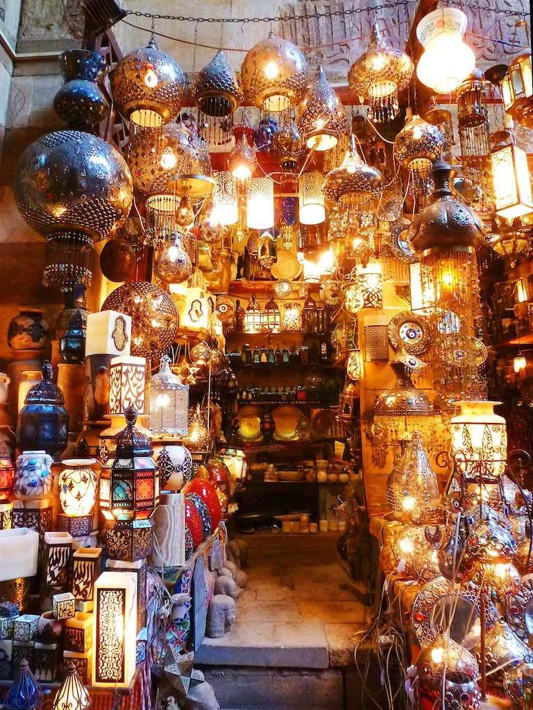 egyptian lanterns