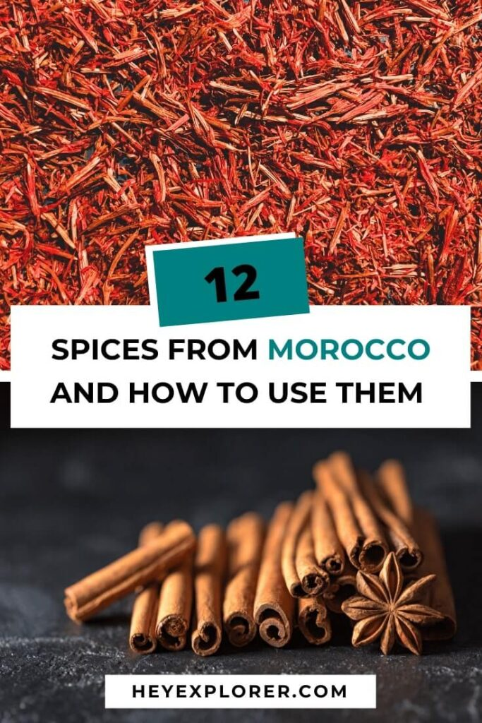 spices from morocco