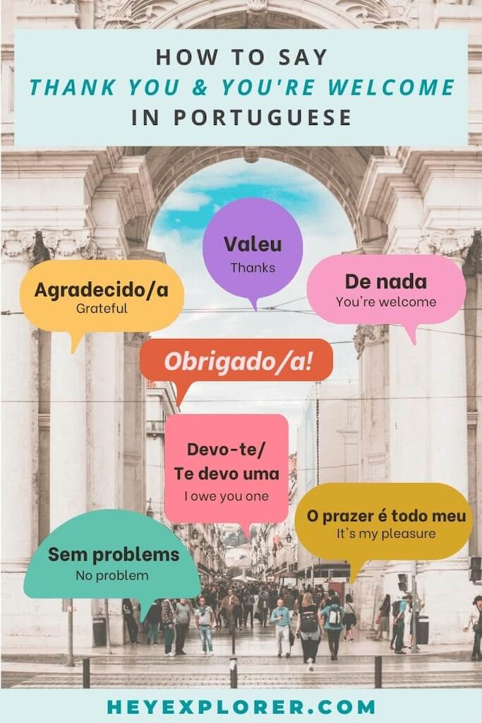saying thank you in portuguese