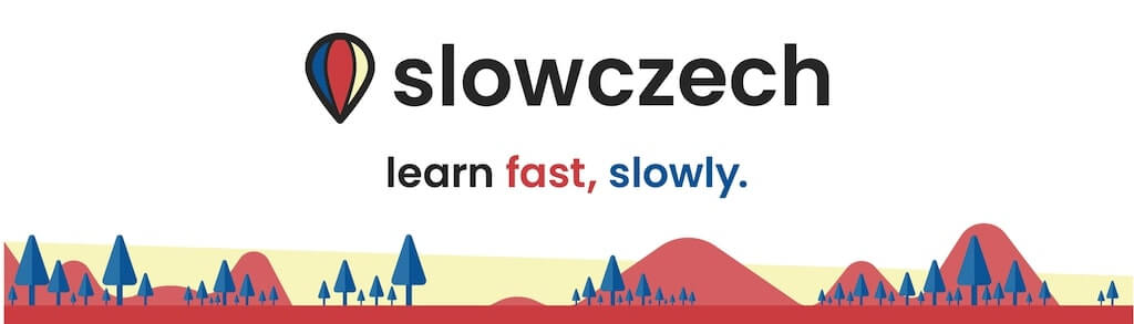 slowczech, an engaging and interesting podcast for beginner Czech learners. Essential for conversational Czech and to learn Czech fast