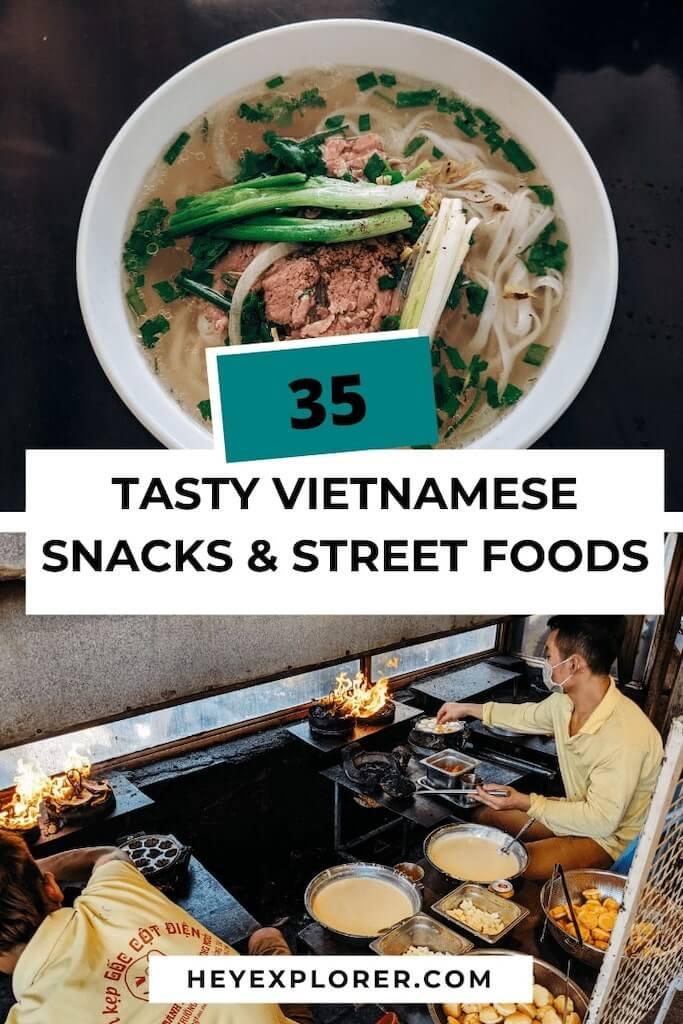 vietnamese snacks and street food