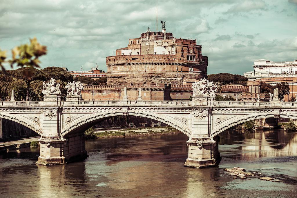 Castel Sant'Angelo houses the Mausoleum of Hadrian