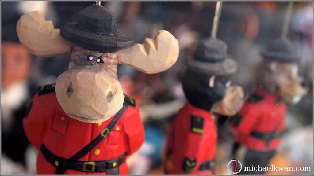 moose souvenir canadian