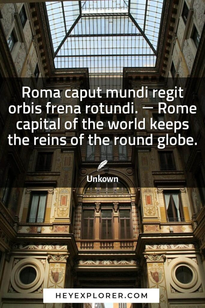Quotes About Rome