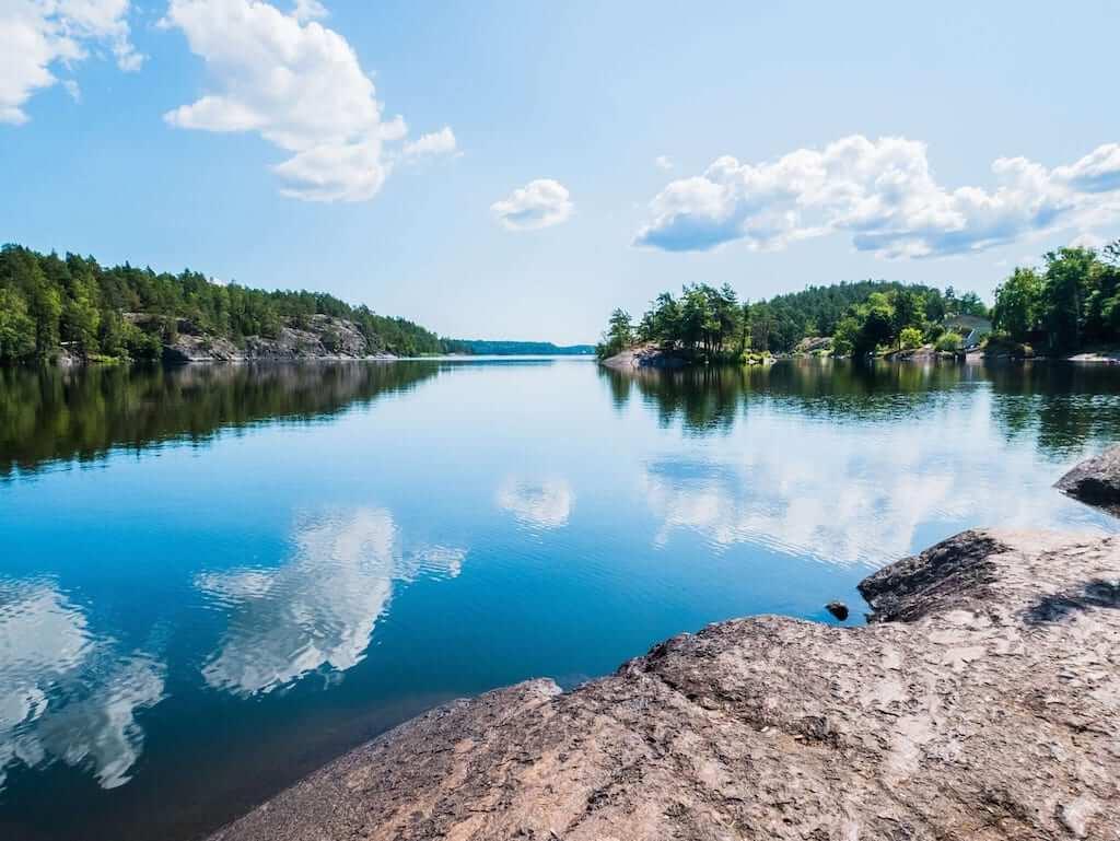 hornavan lake