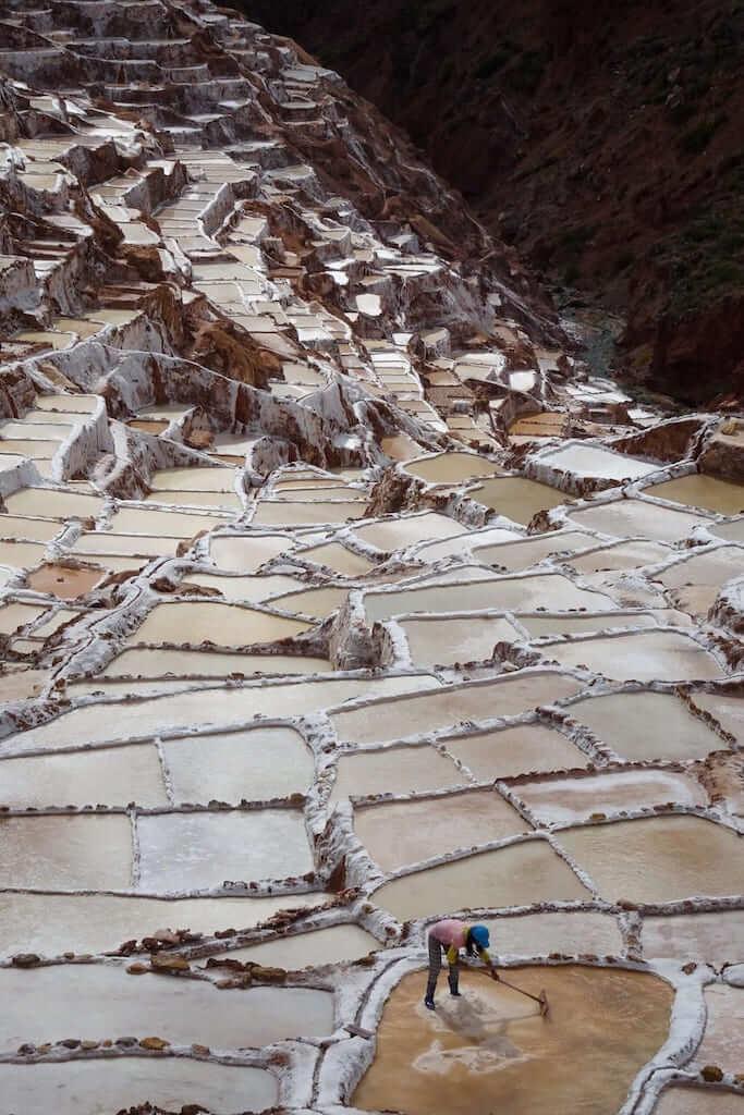 The salt mines in Maras