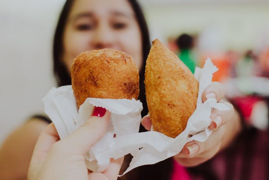 Brazilian deep-fried snacks