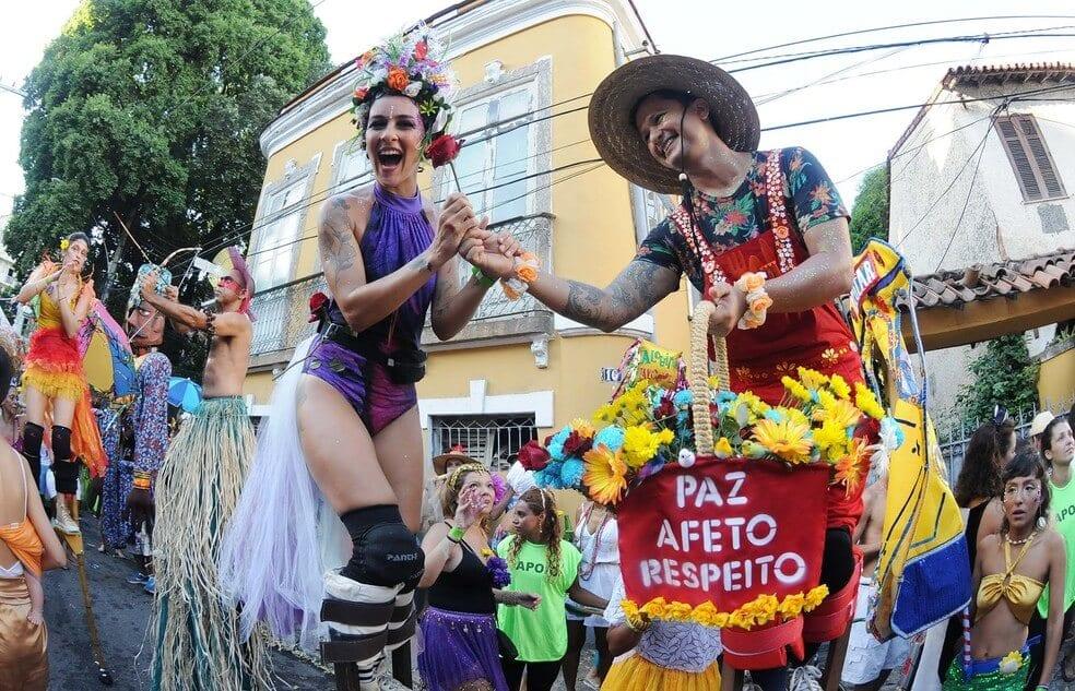 The Rio carnival celebrations