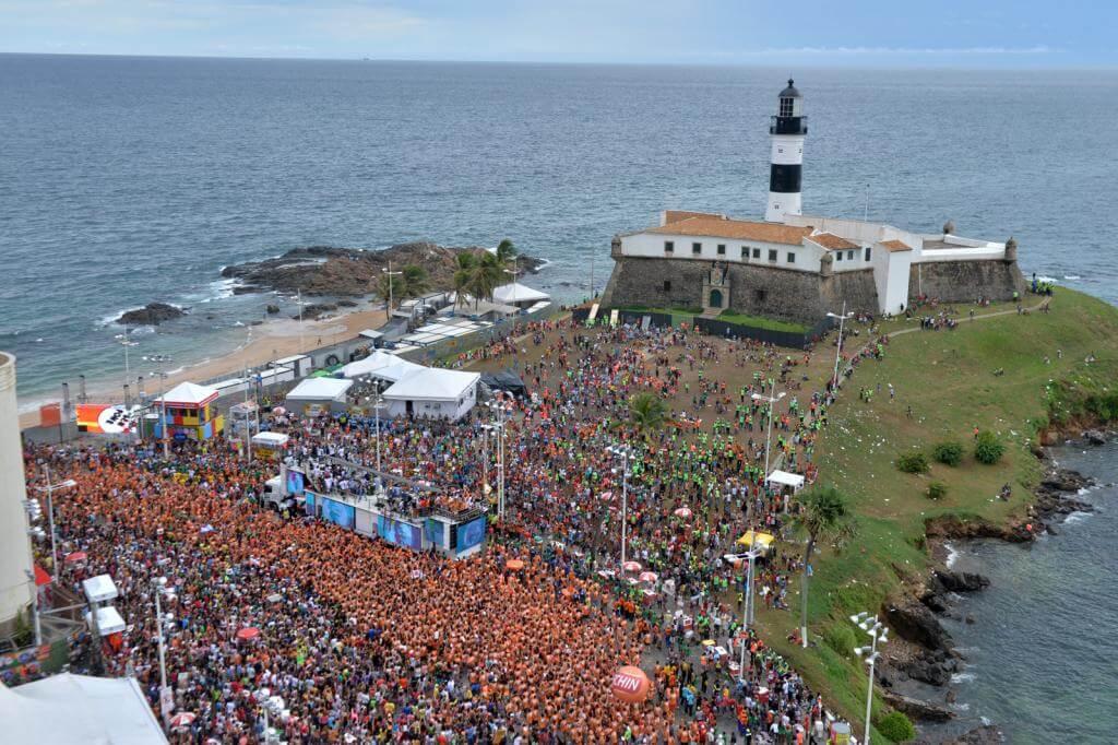 Brazilian carnival at Salvador da Bahia