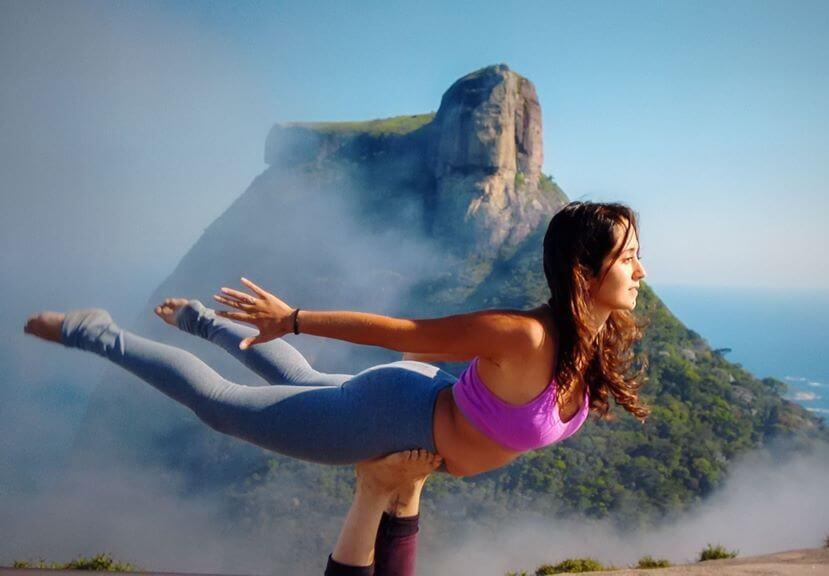 yoga in machu piccu