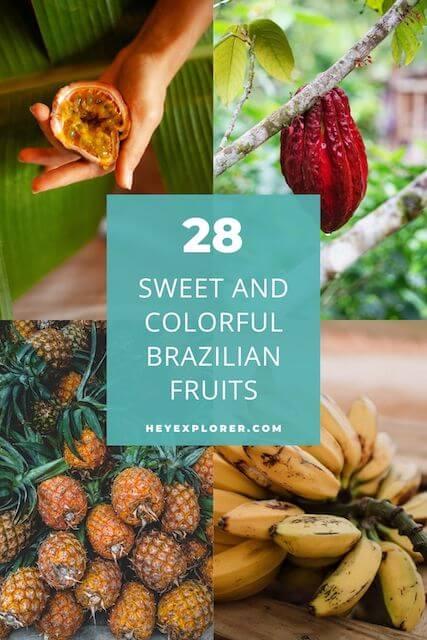 Brazilian fruits
