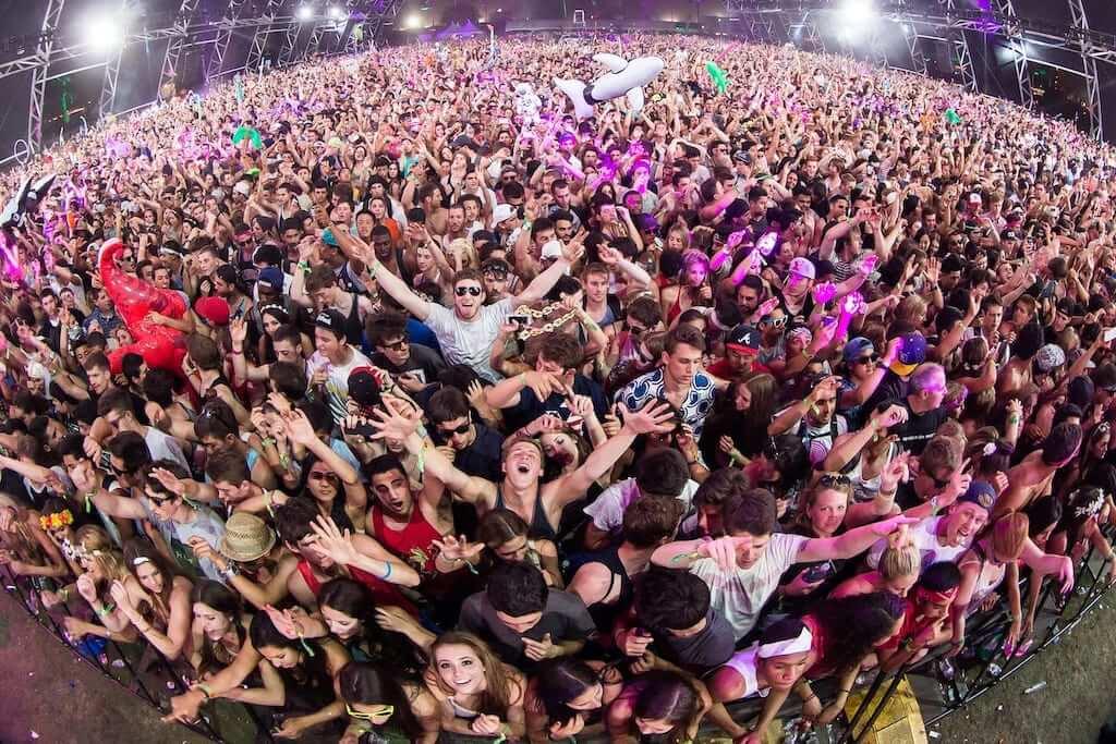a music festival
