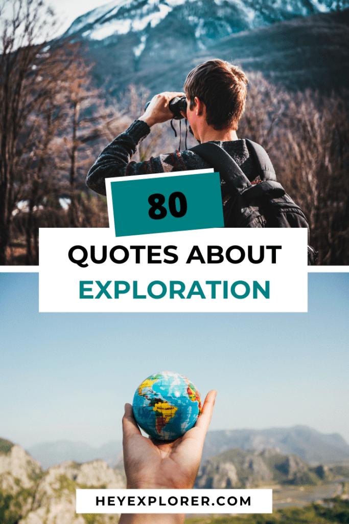 exploration quotes