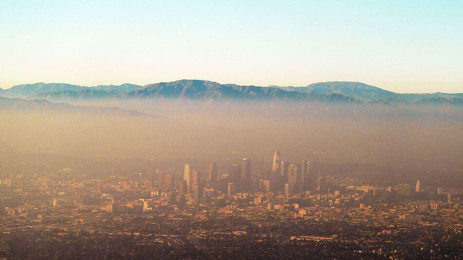 the smog in los angeles