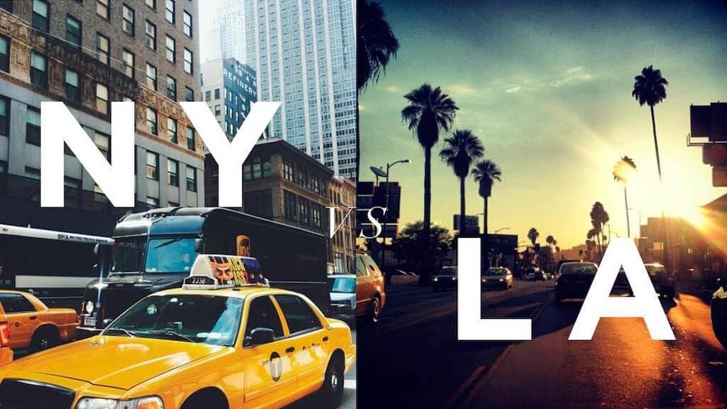 The Los Angeles vs. New York City Rivalry