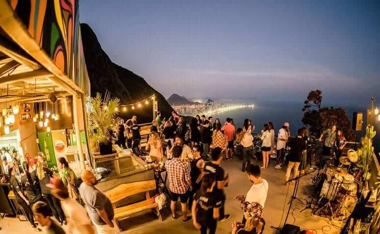 Bar in Brazil