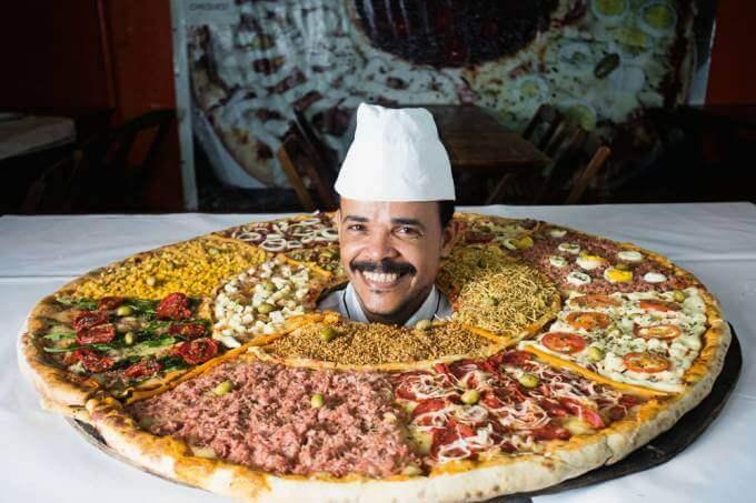 Ricardo dos Santos pizza