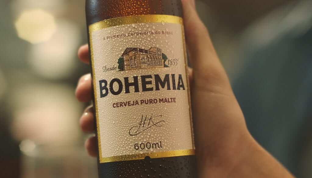 Bottle of Bohemia drink