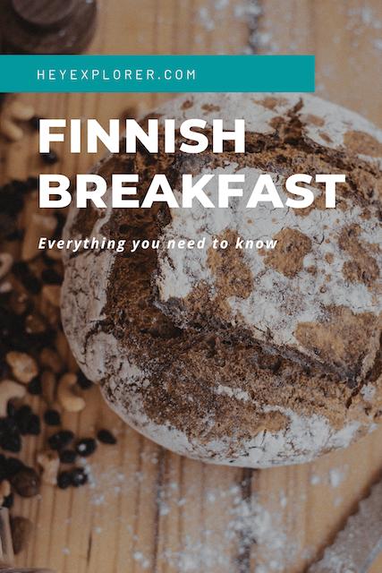 breakfast in finland