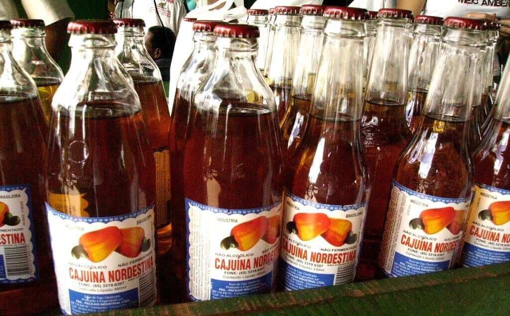 Bottles of Cajuína