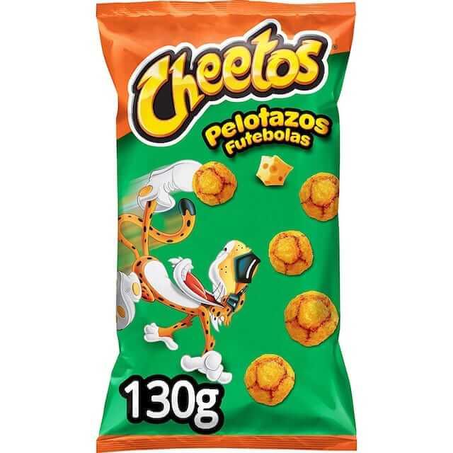 Cheetos futebolas