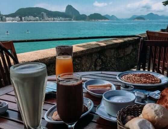Breakfast in Brazil
