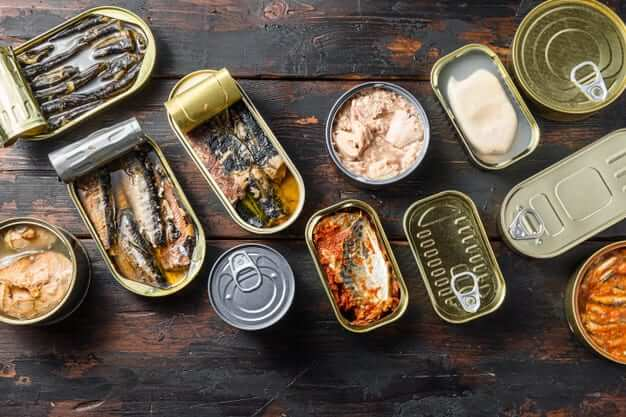 Conservas canned fish