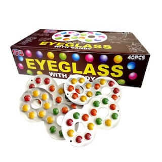 eyeglass chocolate candy