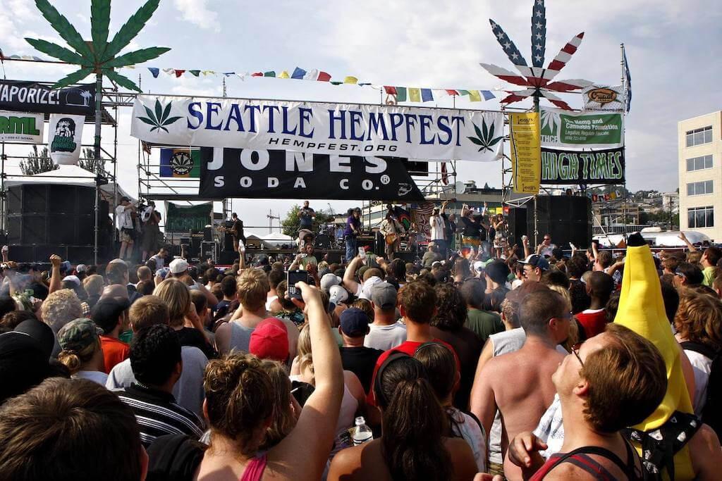 Hempfest in Seattle