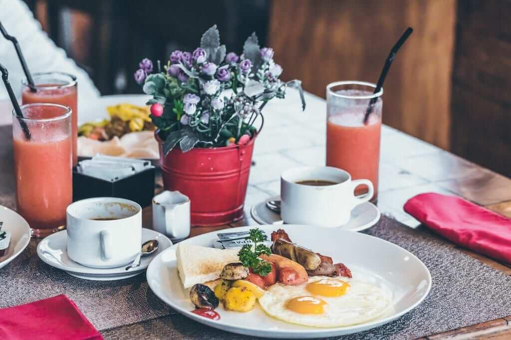 Finnish hotel breakfast