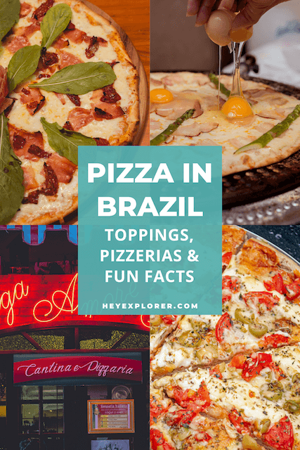 brazilian pizza collage