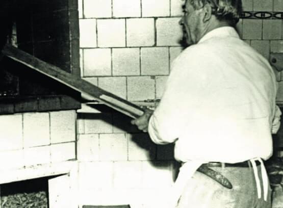 Old photo of Pizzaria Speranza