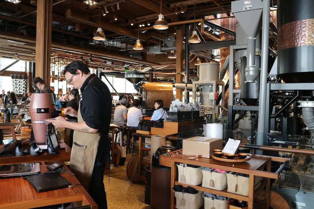 Coffee shop in Seattle