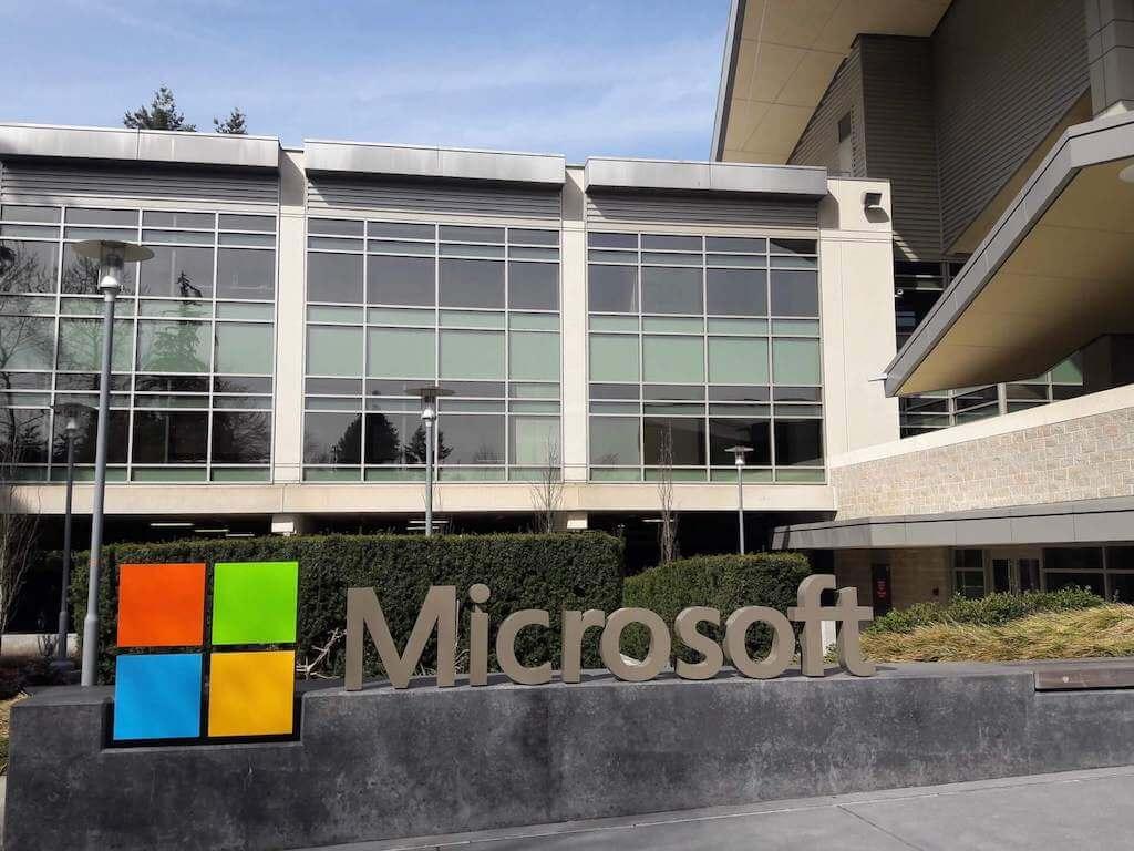 Microsoft building in Seattle
