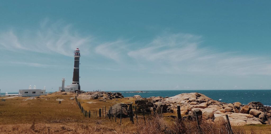 Lighthouse in Cabo Polonio