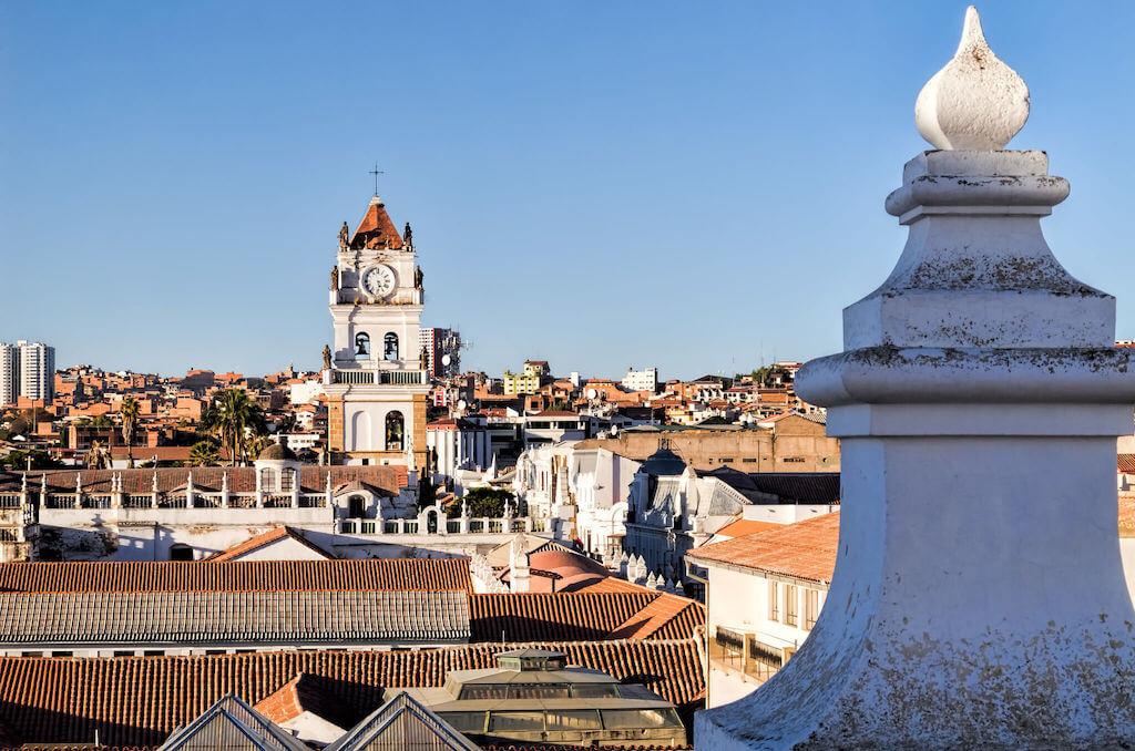 Bolivia official capital Sucre