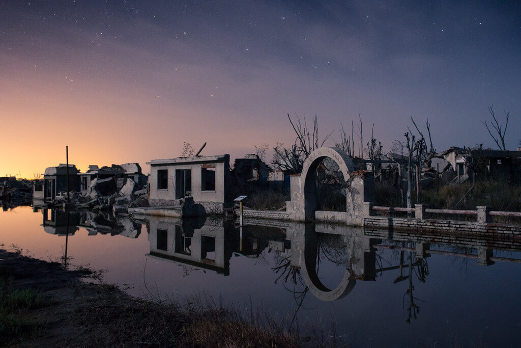 The ruins of Villa Epecuen